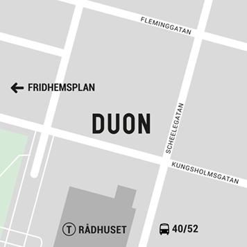 Kungsholmen karta